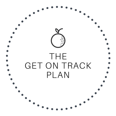 The Get On Track Meal Plan