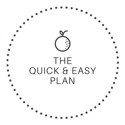 The Quick & Easy Meal Plan