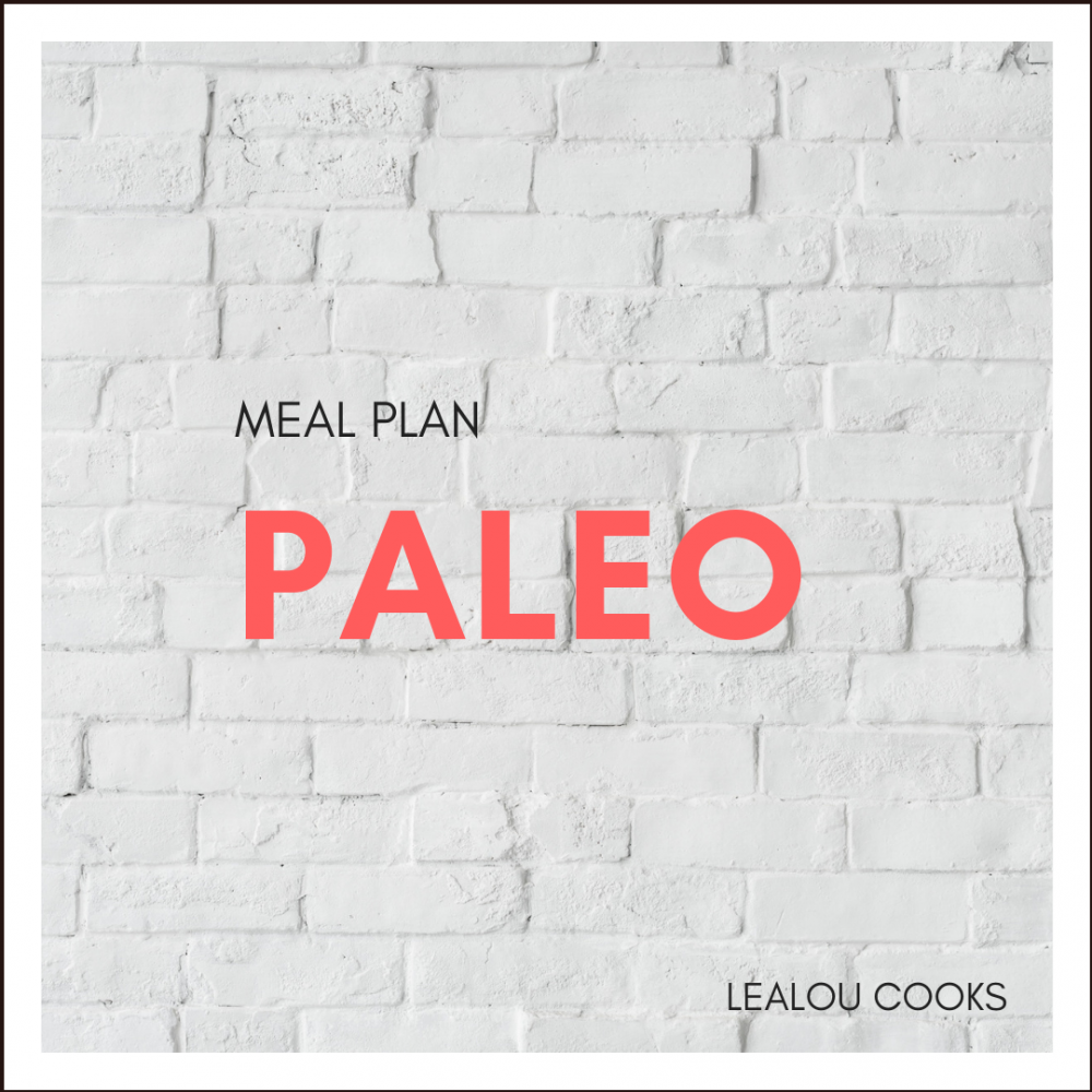 The Easy Paleo Meal Plan
