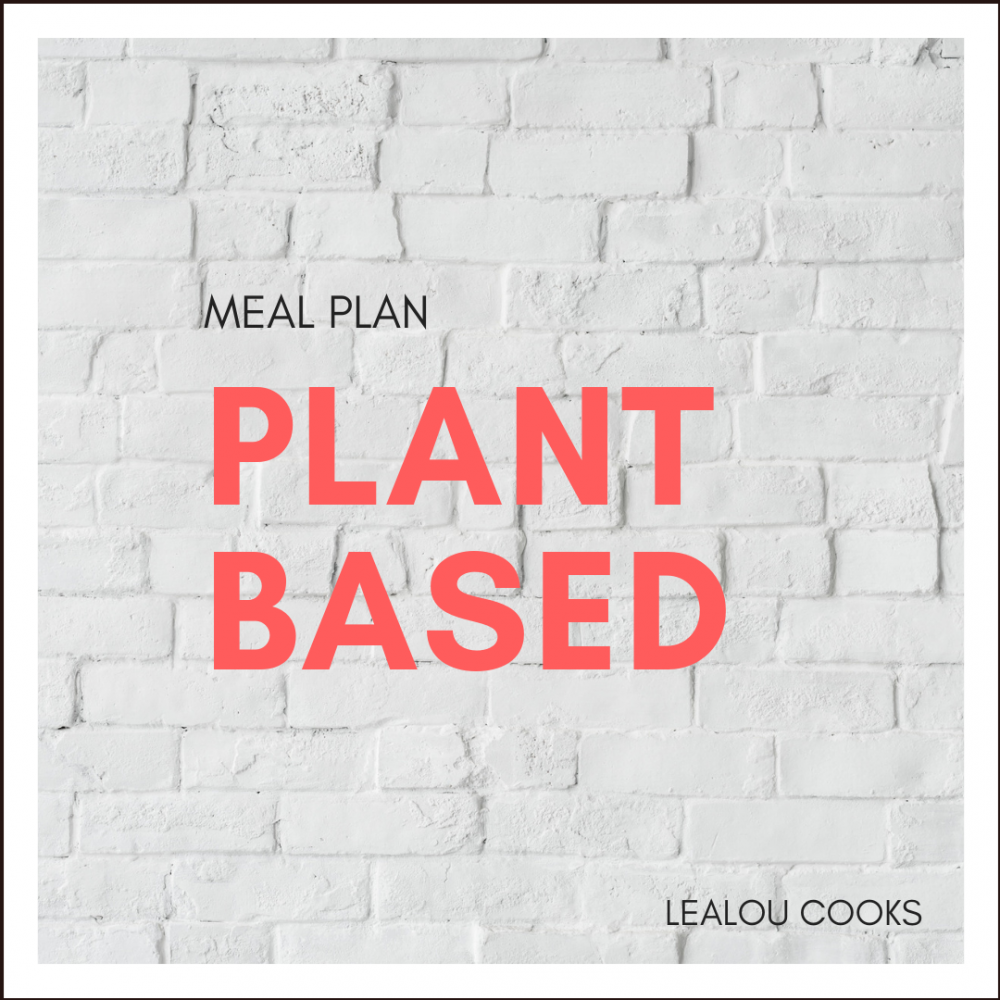 The Plant-Based Meal Plan