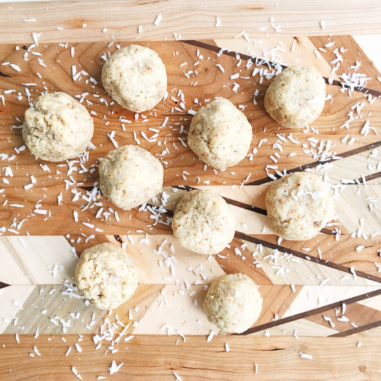 Coconut Almond Cookies
