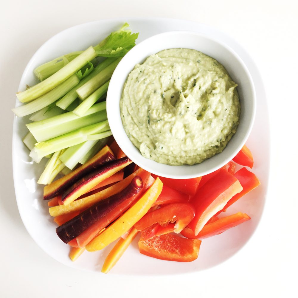 Easy Recipe: White Bean Hummus with Kale and Zucchini