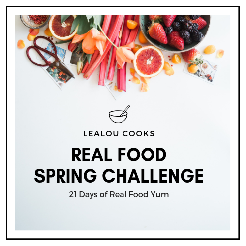 The Real Food Spring Challenge