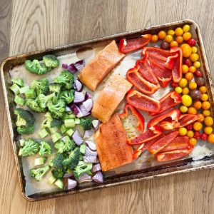 Easy One Pan Meal Idea [Save Time in the Kitchen!]