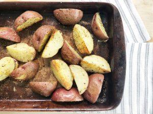 Recipe: Simple Roasted Potatoes